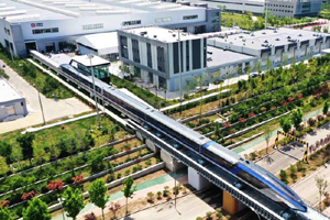 600 km/h maglev train rolls off production line in east China