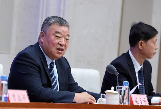 Liang Wannian, team leader from the Chinese side of the World Health Organization-China joint expert team, at a news conference on July 22, 2021. (chinadaily.com.cn/Zhu Xingxin)