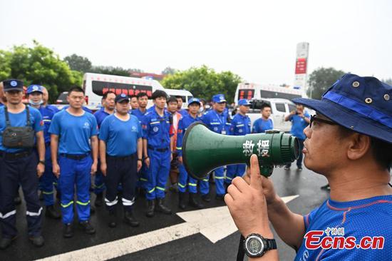 Blue Sky Rescue in Beijing joins rescue efforts in Henan