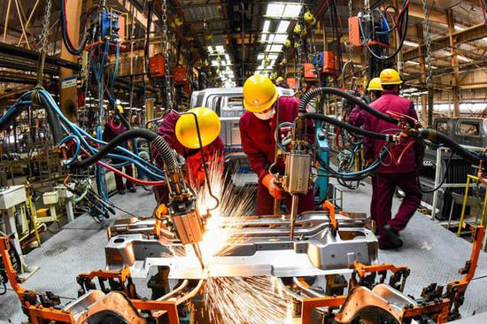 NE China's Jilin sees GDP up 10.7 pct in H1