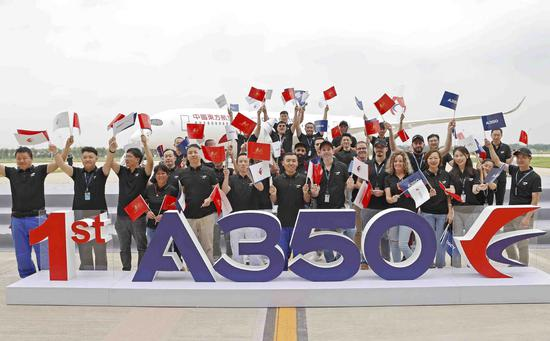 Airbus A350 delivery in Tianjin marks aviation milestone in China
