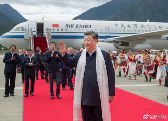 Xi visits Nyingchi in Tibet