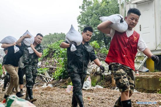 Zhejiang Province braces for Typhoon In-Fa