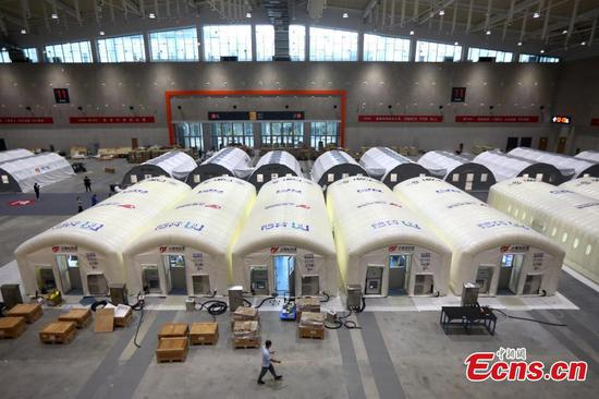 Fire Eye laboratory in Nanjing to test 2 mln samples per day