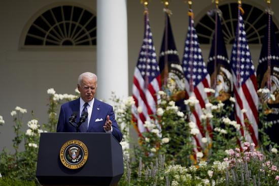 Biden says White House considering vaccine mandate for all federal workers
