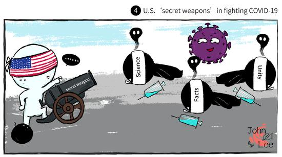 Comicomment: U.S. should point its 'weapons' at the real enemy
