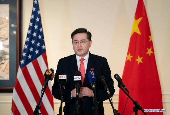 Beijing's new envoy stresses building bridges