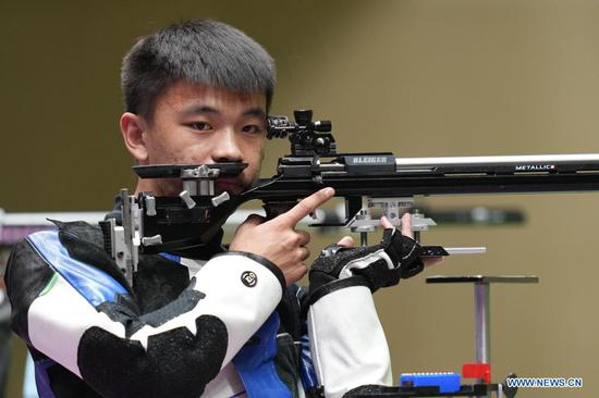 Chinese shooter Zhang makes two Olympic dreams a reality