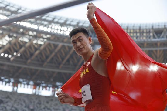 Chinese athlete wins historic silver in men's triple jump at Tokyo Olympics