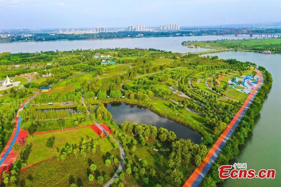 Green land unveils brand-new ecosystem in Hubei