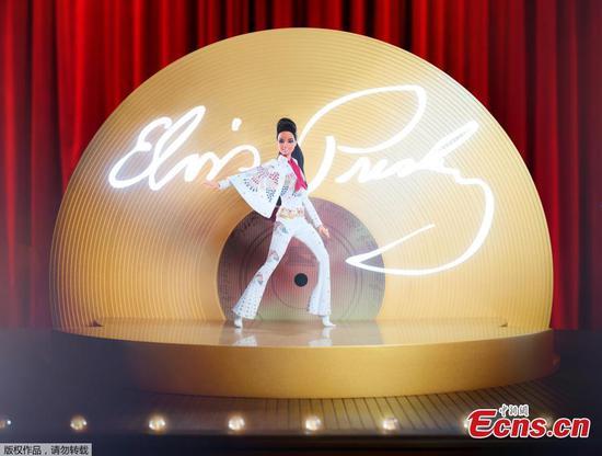 Barbie celebrates Elvis Presley with special edition doll