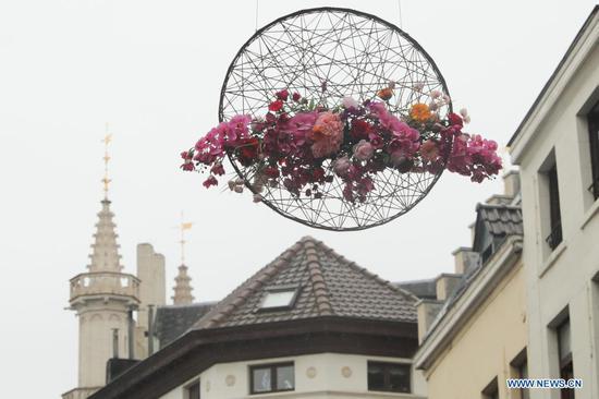 Floral event held in Brussels, Belgium