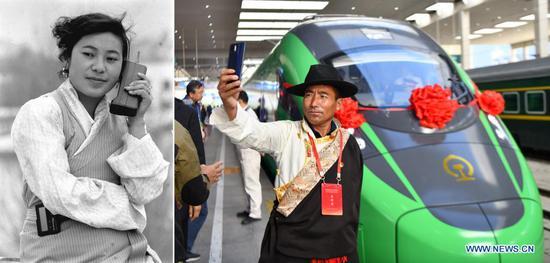 In pics: development of Tibet for 70 years