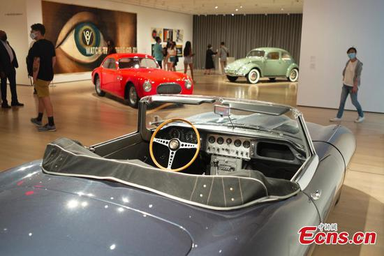 'Automania' exhibition held at Museum of Modern Art in New York