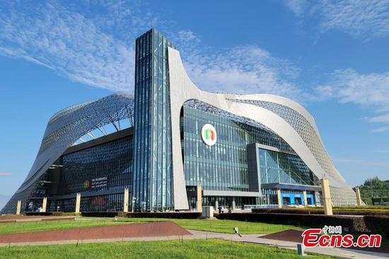 Fifth China-Arab States Expo opens in NW China's Ningxia