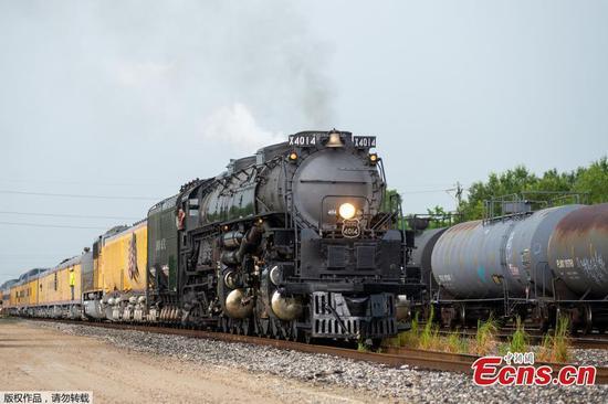 World's largest steam locomotive restored successfully