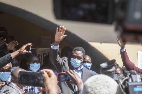 Xi congratulates Hichilema on election as Zambian president