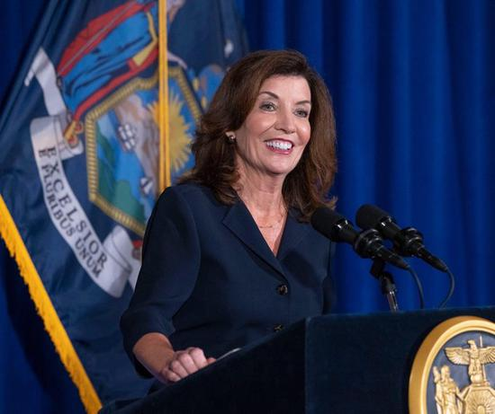 Kathy Hochul to be sworn in as New York State's first female governor