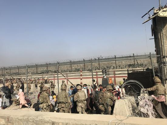 U.S. engages with Taliban daily as Aug. 31 deadline approaches