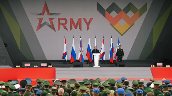 Int'l army games kick off in Russia