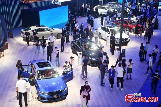 1,500 vehicles debut at 2021 Chengdu International Motor Show