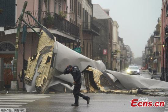Hurricane Ida Lashes Louisiana in U.S.