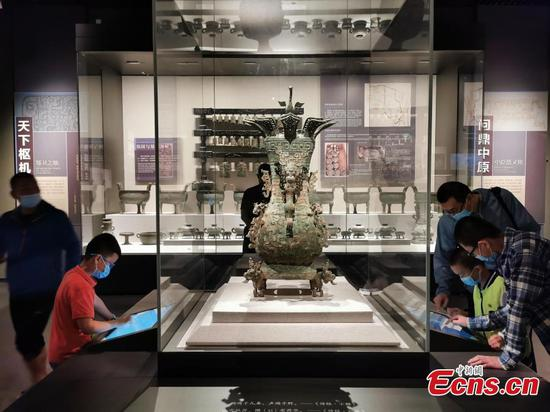 Henan Museum reopens after 30 days of closure