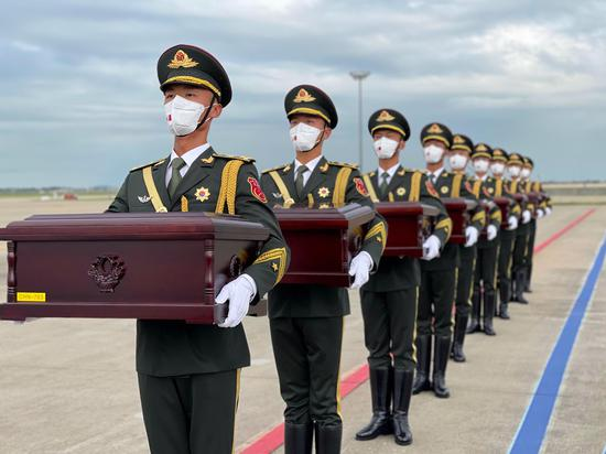 Remains of Chinese soldiers to return from South Korea