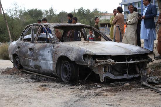 33,000 children killed, maimed in 20-year U.S. war in Afghanistan: aid organization