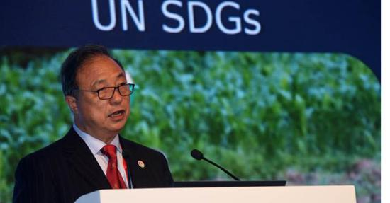 First Int'l Research Center of Big Data for SDGs opens in Beijing