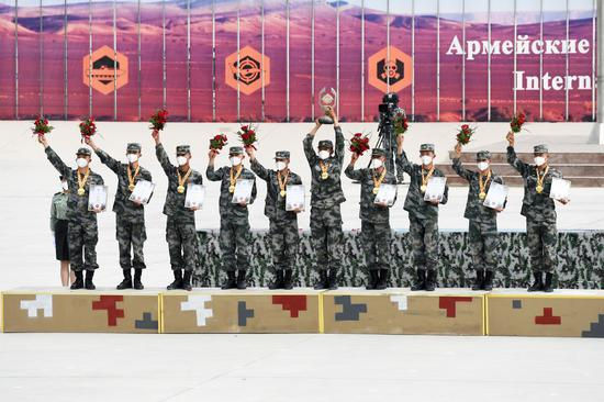 PLA wins three events at army games,  in 11 more
