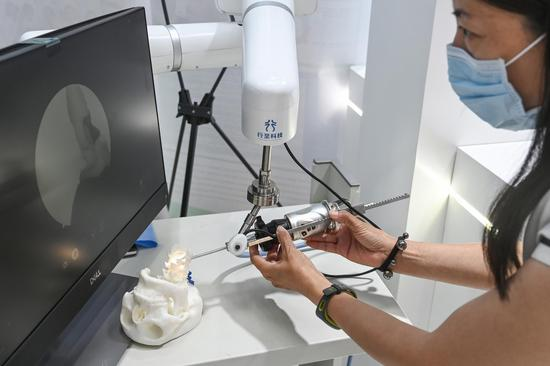 Cutting-edge products, techs dubut at China Int'l Fair for Trade in Services