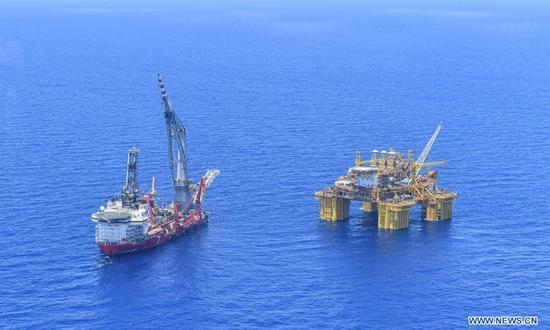 Deep Sea No.1 gas exploration platform enters operation