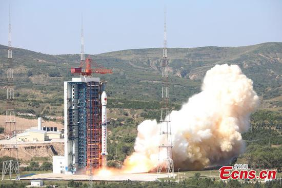 China launches Earth observation satellite Gaofen-5 02