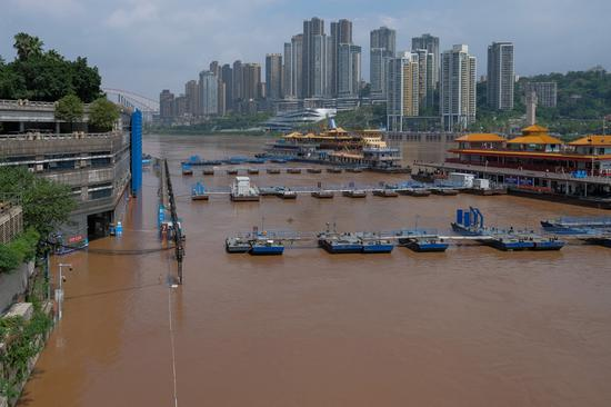 SW China's Chongqing braces for biggest flood of this year