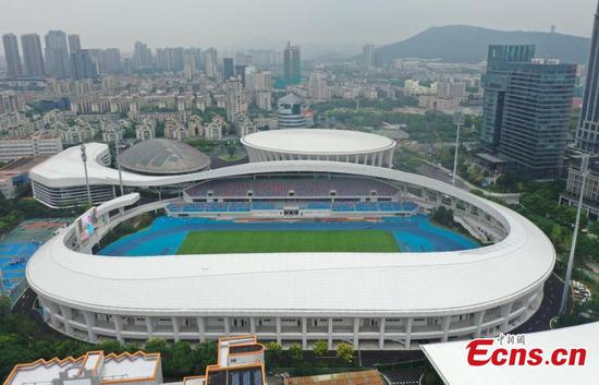 Newly renovated Linping Sports Center for Hangzhou 2022 reopens