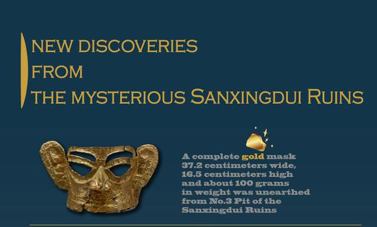 New major discoveries from Sanxingdui Ruins site