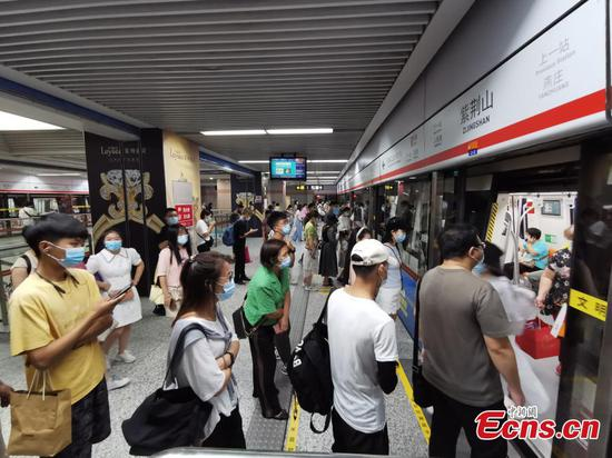 Part of Zhengzhou subway lines resume operation
