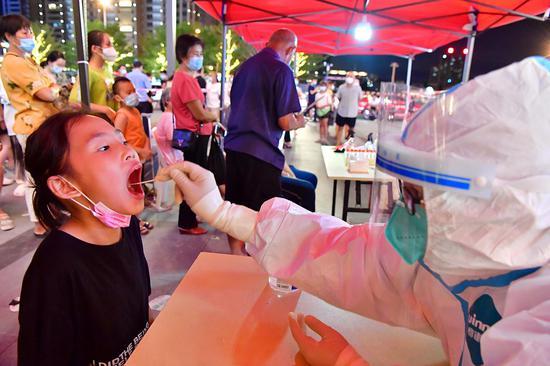Putian in E China's Fujian expands COVID-19 testing