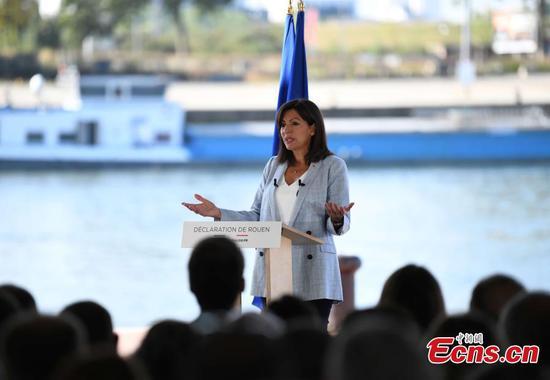 Paris Mayor Anne Hidalgo to run for French presidency