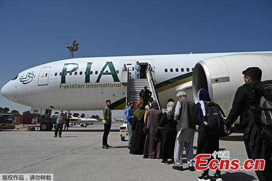 First foreign commercial flight lands in Kabul since Taliban takeover