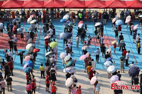 Citywide COVID-19 testing launched in China's Xiamen