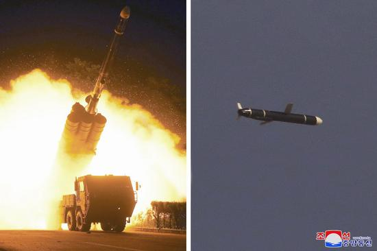 S Korea says DPRK fires 2 unidentified ballistic missiles into east waters