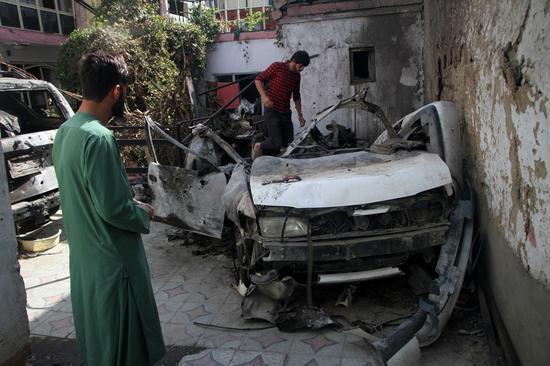 U.S. general says 10 civilians killed in U.S. drone strike in Kabul late August