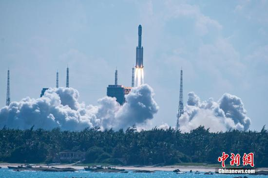 China launches cargo spacecraft Tianzhou-3 for space station supplies
