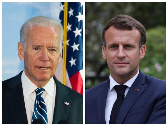 Biden, Macron discuss cooperation, to meet in Rome late October