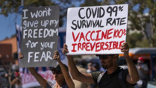 U.S. COVID-19 deaths are topping 1,900 a day