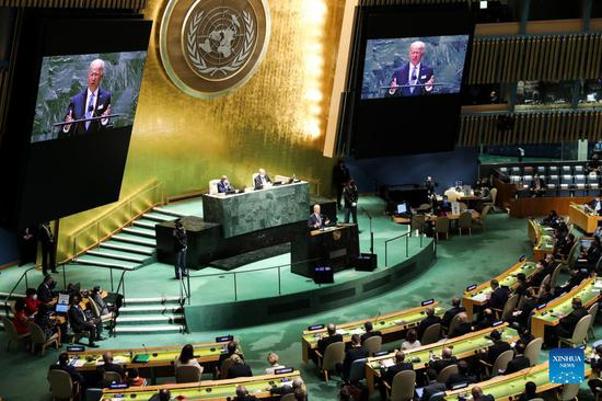 Biden promises 'relentless diplomacy' in UN debut amid rift with allies