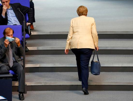 Germans voice expectations as country braces for post-Merkel era