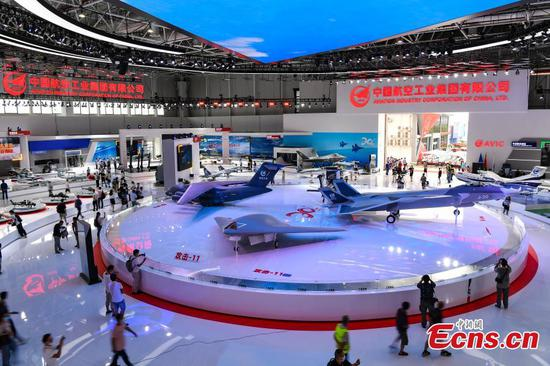 Sneak peek of upcoming 13th Airshow China in Zhuhai